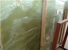 Wholesale Ice Jade Green Onyx Stone Jade Slabs