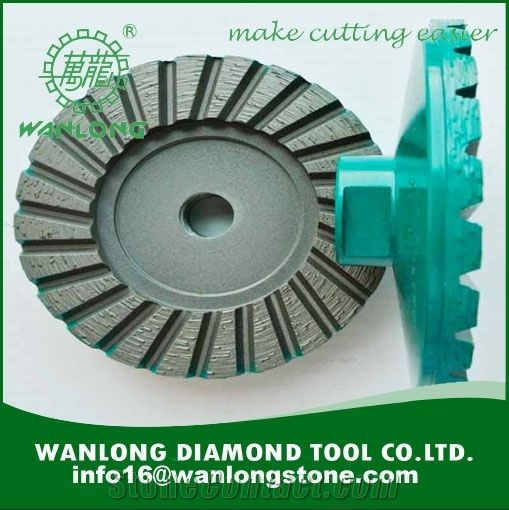 Wanlong Diamond Cup Grinding Wheel For Old Concrete Grinding Best