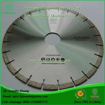 Wanlong Diamond Saw Blade for Granite, Granite Stone Cutting Blade, Diamond Circular Saw Blade for Granite, Stone Diamond Cutting Disc, Sintered Diamond Blades for Granite, Diamond Segmented Blade