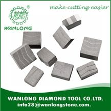 Wanlong Diamond Segment for Granite ,Marble Cutting -High Effeciency Diamond Segment for Stone Cutting -Diamond Tools and Diamond Saw Blade for Slab Cutting