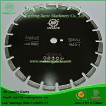 Wanlong Laser Welded Diamond Saw Blade for Concrete, Asphalt and Granite, Diamond Concrete and Wall Cutting Blade, Diamond Circular Saw Blade for Asphalt Cutting, Diamond Cutting Tools for Concrete