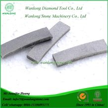 Wanlong Marble Diamond Segment, Stone Cutting Segment for Marble, Marble Diamond Cutting Segment, Block Cutting Segment for Marble, Diamond Blade Segments, Diamond Saw Segments, Stone Cutting Tip