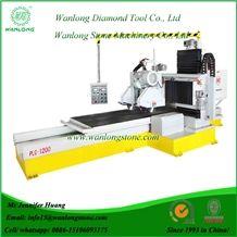 Wanlong Plc-1200/1600 Multifunctional Profiling Machine, Bridge Stone Profiler Machines, Stone Profiling Machine, Stone Edge Profile Machines, Stone Tile Profiling Machine