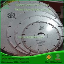 Wanlong Sharp Type Vacuum Brazed Diamond Saw Blade for Marble Cutting, Marble Stone Diamond Cutting Blades, Diamond Cutting Tools for Marble, China Marble Cutting Disc