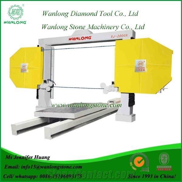 Wanlong Sj-2000a Numerical Wire Saw Machine, Automatic Diamond Wire ...