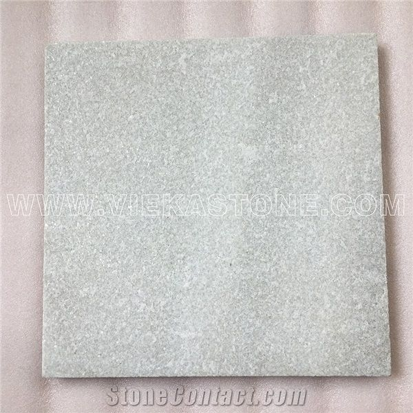 China White Quartzite Tile Slab Indoor and Outdoor ...