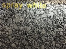 China Natural Stone G377, Spray White, Seawave Flower, Ocean Wave Granite Polished/Unpolished Gangsaw 2cm/3cm Big Slabs, Cut to Sizes, Wall Tiles, Floor Covering Building Projects
