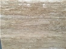 Quarry Direct Supply Iran Persian Mahallat Classic Light Beige Travertine Slab & Tile with Polish Hone Antique Cut/Rough Surface for Floor Covering Wall Cladding Countertop Vanity Step Skirting Mosaic