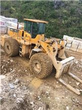 Weisheng Machine Wsm971t27-1 27t Granite Quarry Front Loader ,China 27t Diesel Heavy Big Stone Block Loader ,Pallet Loader Of 27t Working in Marble Quarry in China