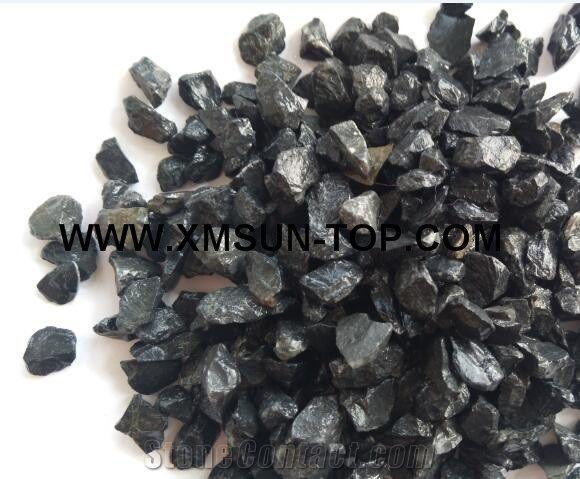 20kg Polished Pebbles Gravel River Pebbles Decorative Garden Gravel Black