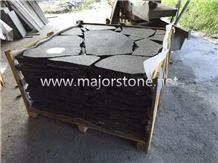 Black Basalt/ Basaltina / Basalto/ China Black/ Hainan Black/ Hainan Black Basalt/Flagstone Tiles/ Walling/ Flooring/Dark Basalt / Blue Stone / Wall Tiles / Slabs / Covering /Paver