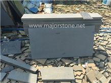 Bluestone Cut to Size Honed Tiles / China Bluestone Honed / Zhangpu Bluestone Tiles with Cat Paws or Honeycomb