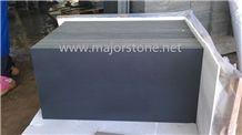 China Honed Bluestone Slabs / Black Honed Basalt Slabs