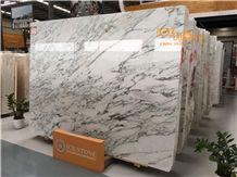 Aurora White with Black Vein/Chinese White Marble with Black Vein/Marble Slabs and Tiles/Marble Wall Covering Tiles/Marble Floor Covering Tiles