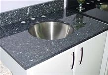 Blue Pearl Granite Bathtops,Bathroom Vanity Tops,Custom Vanity Tops,Naturals Tone Tops,Bathroom Tops