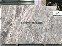 Fior Di Pesco Marble Slabs, Italy Grey Marble