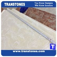 Cream Artificial Marble Silver Beige Faux Quartz Slabs for Wall Panel Ceiling Floor Covering,Solid Surface Engineered Stone Glass Resin Stone Slab for Reception Desk,Hotel Lobby Furniture