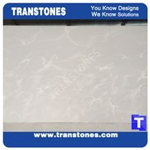 Solid Surface Royal White Rose Artificial Marble Slabs Polished Wall Cladding Panel,Floor Covering,Interior Stone Building Material Manufacture