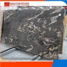 Black Titanium Granite Tile and Slab,Cosmic Black Granite , Black Matrix Titanium Granite