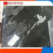 China Black Granite New Nero Branco,Royal Ballet Granite,Snow Grey Granite, River Mist Black Via Lactea Granite,New Jet Mist Granite