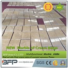 New Product Of Cream Beige Marble Decorated for Floor or Wall Clading from China New Quarry