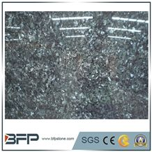 Polished Labrador Blue Pearl Granite Slab