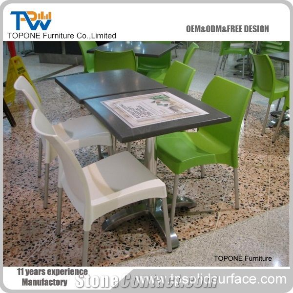 Factory Price Grey Color Square Artificial Marble Stone
