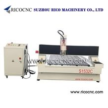 3 Axis Stone Cnc Router, Marble Cutting Machine, Granite Carving Tool, Stone Drilling Machine S1532c