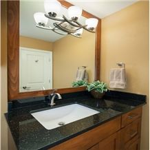 Black Galaxy Custom Vanity Tops, Bathroom Countertops