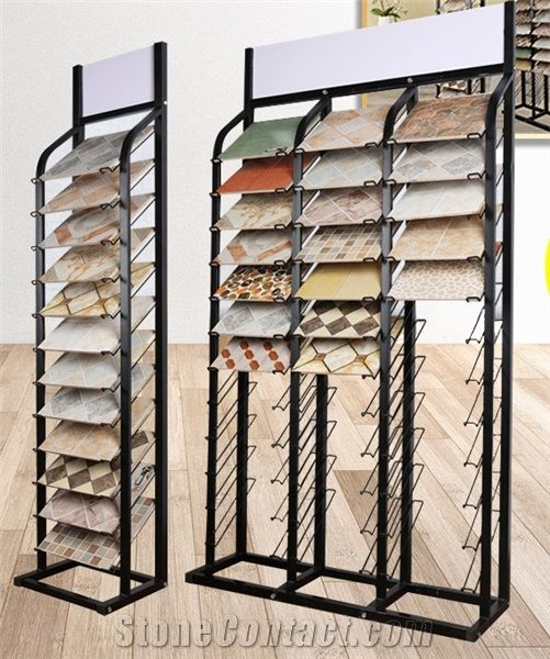 Exhibition Stand Organizer : Loose stone rack onyx table stand ceramic display rack