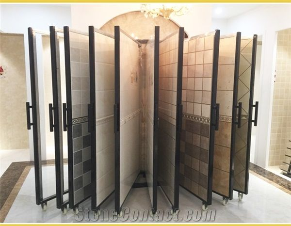 119sliding Hardwood Displays Ceramic Display Rack