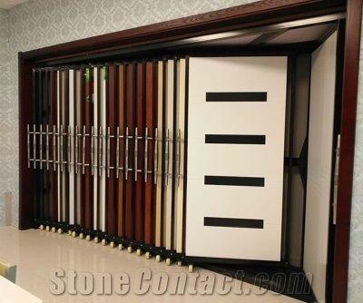 Metal Ceramics Tiles Display Racks