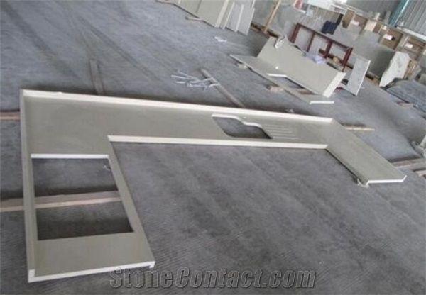 Prefab Quartz Countertops Kitchen Bar Tops Engineered Stone Countertops