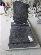 Bahama Blue Monument & Tombstone,Bahama Blue Granite Czech Style Tombstone,Granite Monument