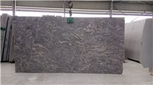 China Silver Juparana Granite Big Slabs