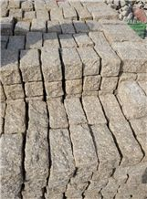 Discount G682 Cubes, China Padang Giallo Rust Granite Cube Stone & Brick Pavers for Walling Stones,Driveway Paving Sets,Landscaping Stone Project Manufacturer
