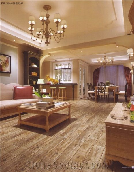 Special Wood Grain Ceramic Floor Tiles From China Stonecontact