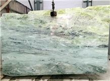 Glacier Aquamarine Onyx, Blue and Yellow Natrual Stone,Tile and Slab,Wall Cladding,A Grade Natural Stone,Own Factory and Quarry Owner with Ce Certificate,Big Gang Saw Slab in Large Stock and Cheap