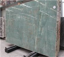 Green Jade Onyx, China Stone,Tile Slab,Floor Paving Natural Stone,Countertop,Bathroom Top Vanity Top ,Wall Cladding, Hall and Hotel Use, Competitive Price, Own Factory and Quarry Owner,Ce Certificate