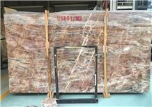 Louis Red Marble, Tile and Slab,Wall Cladding,A Grade Natural Stone,Own Factory and Quarry Owner with Ce Certificate,Big Gang Saw Slab in Large Stock and Cheap Price,Floor Paving