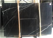 Nero Oriental Marble,China Black with Vein ,Nero Marquina,Tile and Slab,Wall Cladding,A Grade Natural Stone,Own Factory and Quarry Owner with Ce Certificate,Big Gang Saw Slab in Large Stock and Cheap