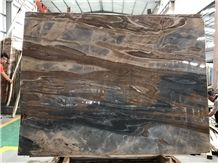 Roma Impression Marble, China Impression Series Marble, Brown and Black Color,Tile and Slab,Wall Cladding,A Grade Natural Stone,Own Factory and Quarry with Ce Certificate,Big Gang Saw Slab