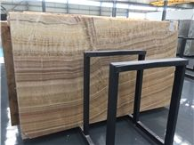 Wood Vein Onyx, Brown Color, Tile and Slab,Wall Cladding,A Grade Natural Stone,Own Factory and Quarry with Ce Certificate,Big Gang Saw Slab in Large Stock and Cheap Price,Nice Decorated Stone