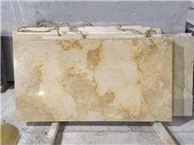 Tushevski Limestone Tiles & Slabs, Russian Federation Beige Limestone