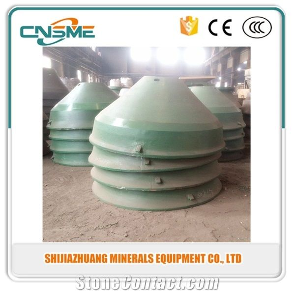 Metso Crusher Wear Parts Bowl Liner,Mantle and Concave from