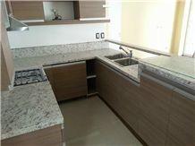 Kitchen Counter Granite White Dallas- Blanco Dallas