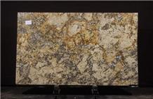 Tempest Gold Granite Slabs