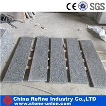 Fujian Light Grey G603 Granite Stair Tile
