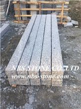 New G603 Light Grey Granite Road Stone,Kerbstone for Landscape,Palisade,Chinese Cheap Grey Granite Flamed Curbstone,Side Stone