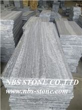 Santiago Negro,Ash Grey,Shandong Landscape,Grey Granite,Own Factory,Polished Tiles& Slabs, Flamed,Bushhammered,Cut to Size, Wall Covering, Flooring, Project, Building Material
